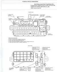 honda civic fuse box 2002 honda wiring diagrams