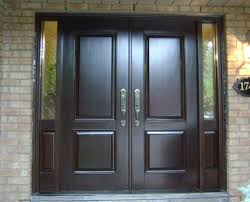Innovative Front Door Double Designs 17 Best Ideas About Double