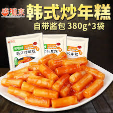 Usd 1338 Korean Spicy Fried Rice Cake Spicy Sauce Set Korean