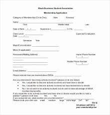 Club Membership Form Template Church Membership Form Template Word Awesome Membership B H
