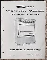 Ebay Cigarette Vending Machine New Seeburg Model LB48 Cigarette Vendor Vending Machine Parts Catalog