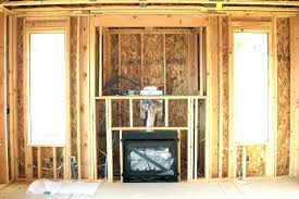 fireplace framing gas fireplace framing um gas fireplace framing instructions