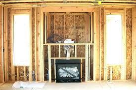 fireplace framing gas fireplace framing um gas fireplace framing instructions fireplace framing