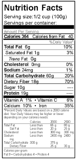 garbanzo beans nutrition facts