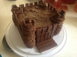 Medieval Castle Cake Designs A Castle Cake I Made For My Sons Medieval Birthday Party