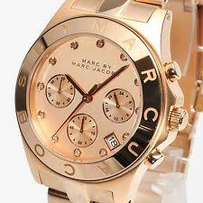 marc jacobs watch mens womens marc jacobs watches new marc by marc jacobs mbm3102 ladies rose gold chronograph watch