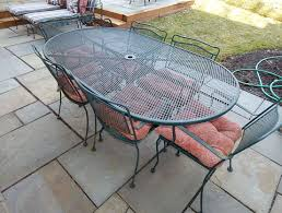 Furniture  Best Outdoor Wrought Iron Patio Furniture With Garden Wrought Iron Outdoor Furniture Clearance