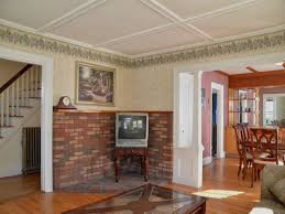 interior paint colors that go with red brick