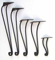 contemporary metal furniture legs. hand forged wrought iron table legs by maidensofironinc on etsy contemporary metal furniture