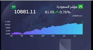 مؤشر سوق السعودية يغلق مرتفعاً قرب 11 ألف نقطة