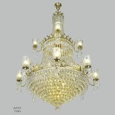 large crystal chandelier elegant grand ballroom ceiling light fixture ant 720 for