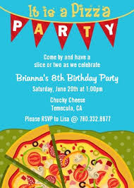 Pizza Party Invitation Templates Pizza Party Invitations Including Attractive Party Invitation