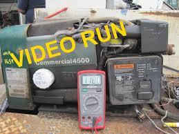 1659 onan commercial generator w pto 4500 wats