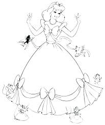 Colouring Pages Princess Disney Princess Coloring Pages Free Frozen