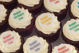 Personalised Cupcakes Message Cupcakes Printed Cupcakes