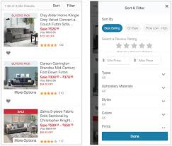 Website Filter Design Examples Helpful Filter Categories And Values For Better Ux