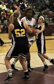 Kalamazoo Central girls basketball team uses fast start to sink Portage  Central on Monday in Class A opening round district action - mlive.com