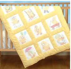 Baby Ducks Nursery Quilt Squares Embroidery Kit Machine Embroidery ... & Baby Ducks Nursery Quilt Squares Embroidery Kit Machine Embroidery Baby Quilt  Designs Embroidery Transfers For Baby Adamdwight.com