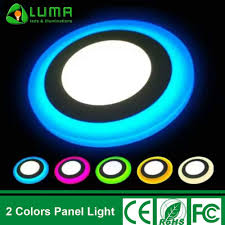 Colored Led Can Lights Dual Color Led Light Ceiling Recessed Round Panel Light 3 3w Buy Dual Color Panel Light Color Panel Led Led Panel Light Product On Alibaba Com