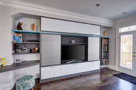 unit space solutions great wall media center custom cabinet