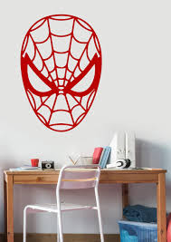Marvel Comic Bedroom Online Store Spiderman Decal Removable Vinyl Sticker Marvel