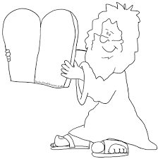 Trend Ten Commandments Coloring Pages 52 For Picture Page Inside