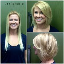 Hair Style Before And After less is more hair makeover short hair long bob haircut before 5677 by wearticles.com