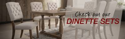 check out our dinette sets