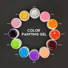Aliexpress.com : Buy New 3D Nail Art Paint Draw Painting Acrylic ...