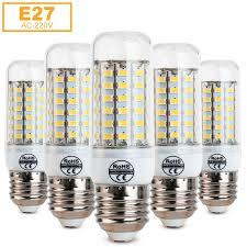e27 led light 5730 smd corn bulb ampoule 220v chandelier lampada led spot light 24 36 48 56 69leds warm white white e27 led light ampoules 220v smd corn