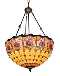 tiffany style flush mount ceiling light uk glass traditional fan lights home depot