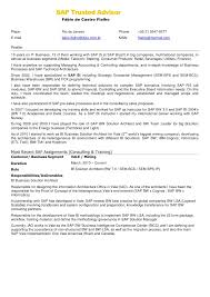 Sap Fico Resume Sample Best of Sap Format 24 Dokiokimarketco