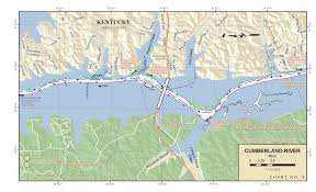 Cumberland River Navigation Charts Smithland Kentucky To