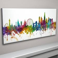 panoramic canvas white background