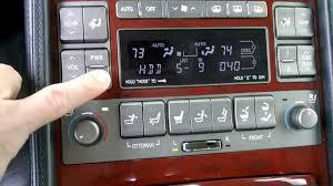Lexus LS460 Exec. Seat Pkg. - Rear Audio Controls - YouTube