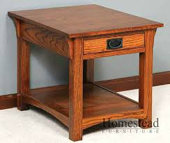 craftsman style coffee table mission style end tables stylish mission style end tables iron wood craftsman style end tables prepare mission style coffee