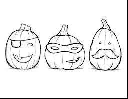 Small Picture impressive halloween pumpkin coloring pages realistic with