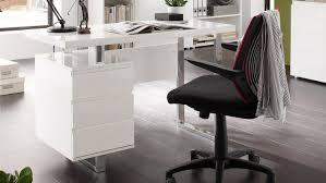 chrome office desk. ModaNuvo Computer Office Desk White Or Black High Gloss \u0026 Chrome With Drawers E