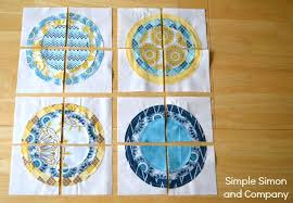 Circle Quilt Patterns Custom Indie Chic Circle Quilt A Bulls Eye Quilt Tutorial Simple Simon