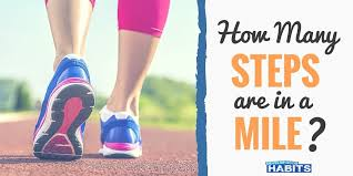 Steps To Miles Conversion Chart Approximate How Many Steps Are In A Mile Simple Calculation For 2020