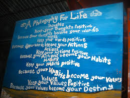 A Philosophy For Life Mesmerizing Philosophy Words About Life
