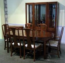 thomasville dining room sets ethan allen early american maple furniture used for country