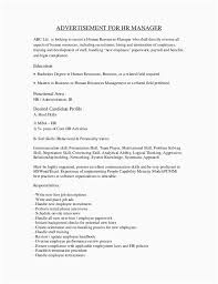 Sample Hr Manager Resume Job Analysis And Role Analysis Of Hr