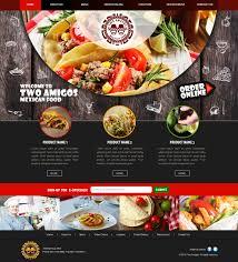 Restaurant Website Design Serious Modern Restaurant Web Design For A Company By