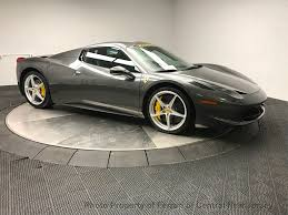 2013 Used Ferrari 458 Spider at Bentley Edison Serving New York ...