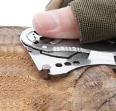 Credit card knives (or wallet knives) are the approximate size and shape of a credit card and are designed to fit in your wallet like a normal card. Mini Pocket Knives Outdoor Self Defense Edc Tools Wallet Credit Card Knife Ebay