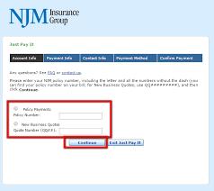 new jersey manufacturers insurance login