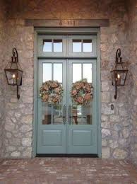 front door lighting ideas. front door exterior ideas lighting see more bevolo gas lights on beautiful stone house