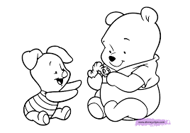 Small Picture Baby Winnie The Pooh Coloring Pages GetColoringPagescom
