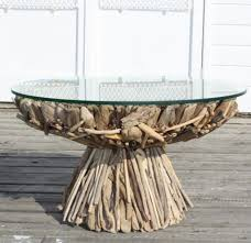Outdoor Driftwood Tables